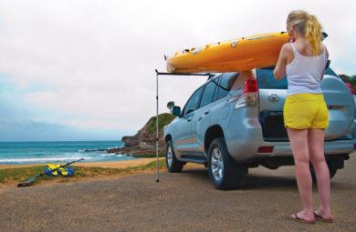 Chargement kayak