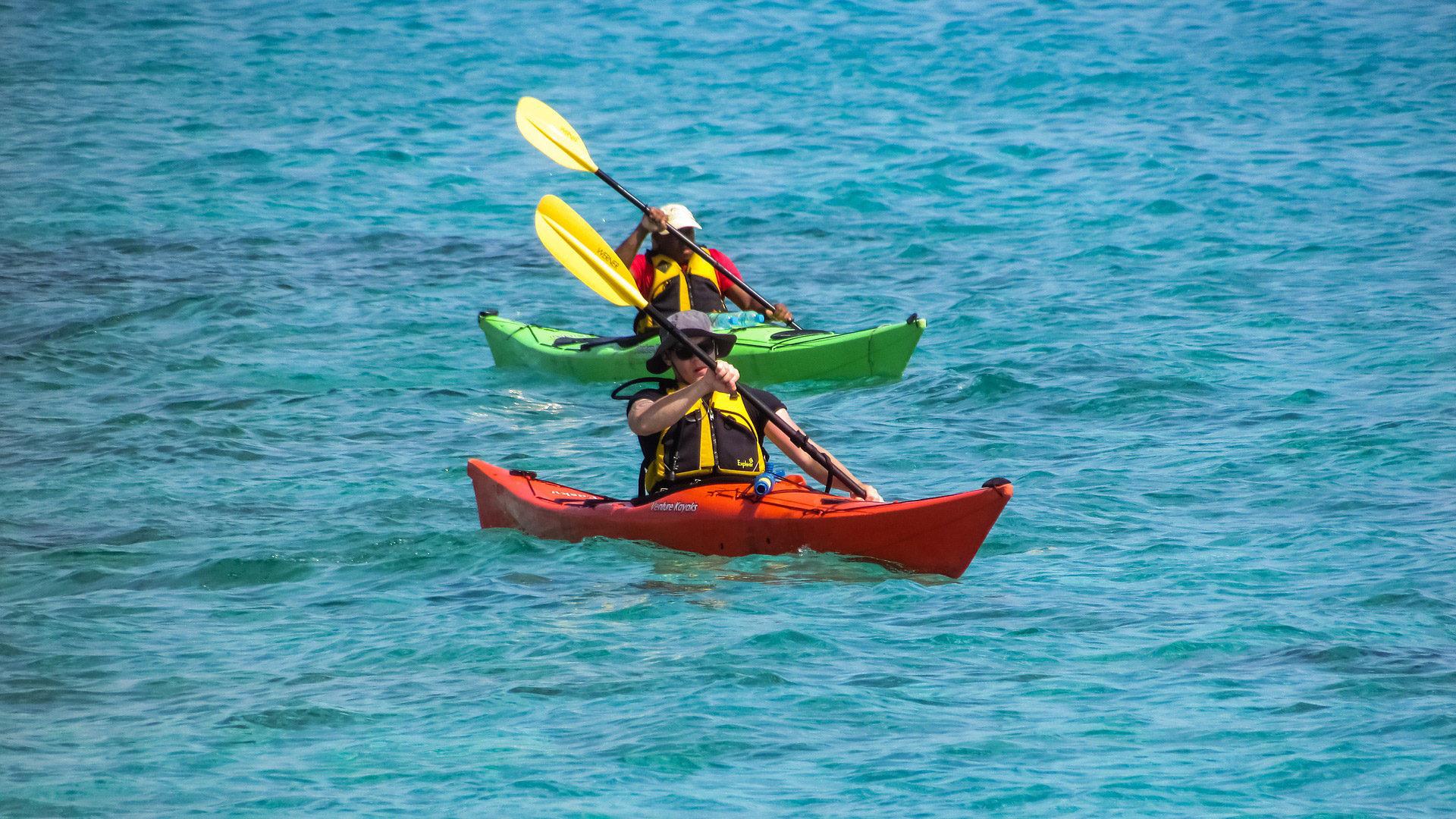 Division 240 / Division 245 kayak en mer - Guide Kayak