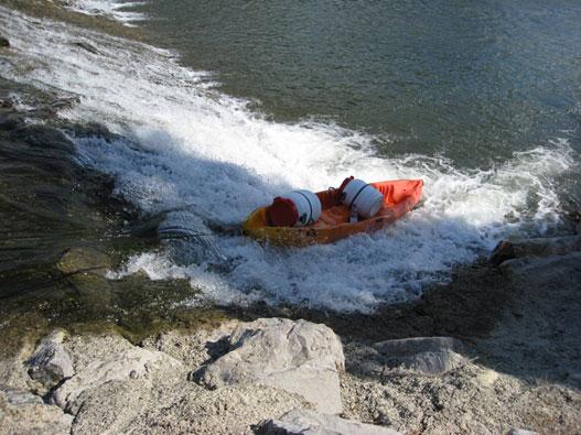 Kayak bidons étanches