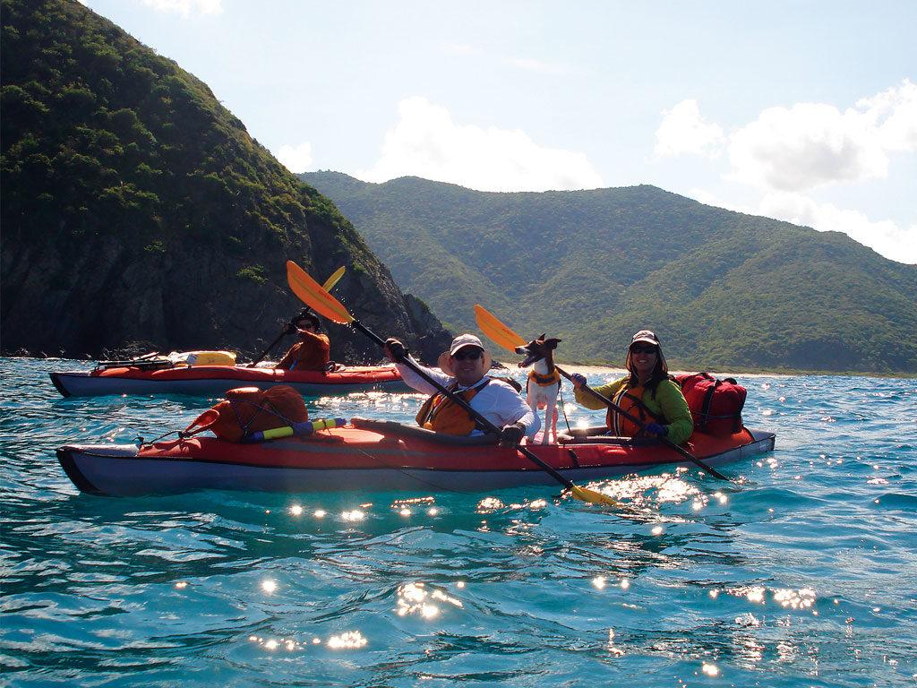 Gants et mitaine kayak