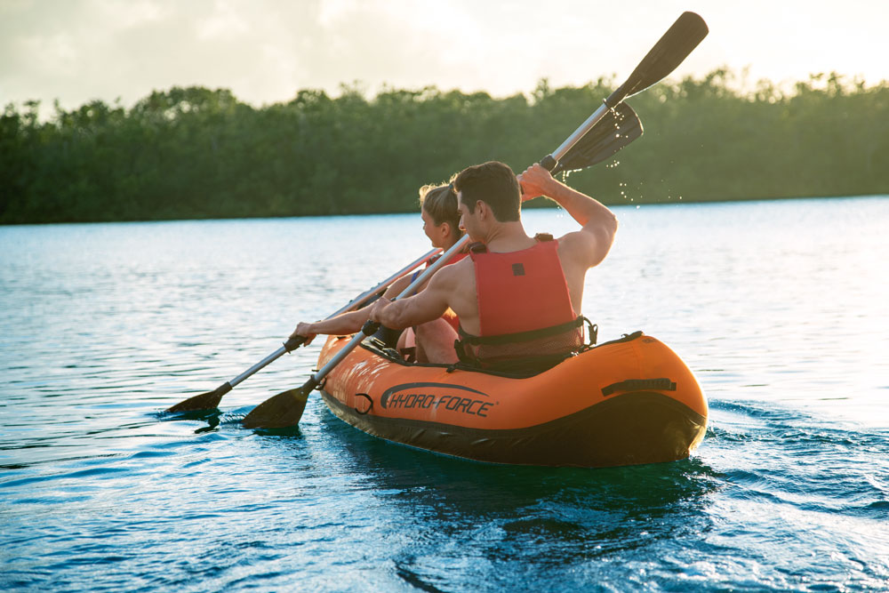 Kayak gonflable Hydro Force Ventura