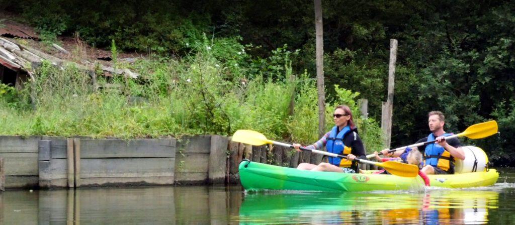 kayak lac et rivière